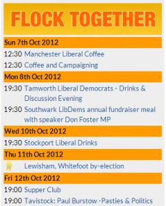 List of Flocktogether events on the Lib Dem Voice website